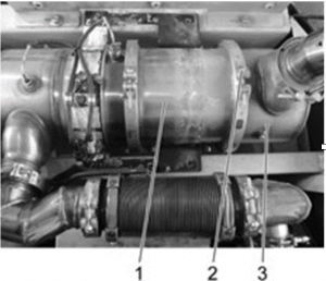 Partikelfilter EC300D